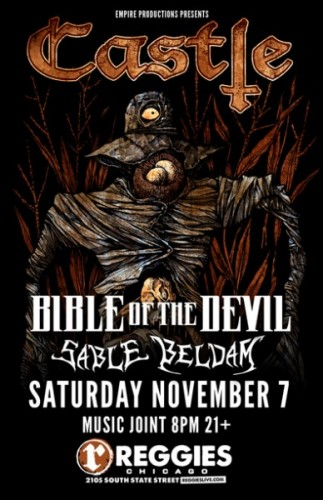 Castle, BOTD, Sable Bedlam at Reggie's